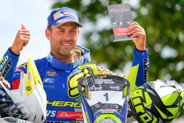 Sherco TVS Rally Factory Team's Michael Metge secures consecutive second win at Baja Aragon 2019