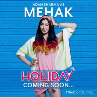 Adah Sharma as Mehak in The Zoom Studios' The Holiday