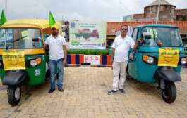 Piaggio is ready with the range of CNG Products for Ranchi market