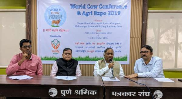 Pune to host World Cow conference and Agri Expo