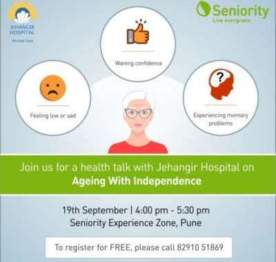Seniority encourages 'Ageing with Independence' to observe World Alzheimer's Day
