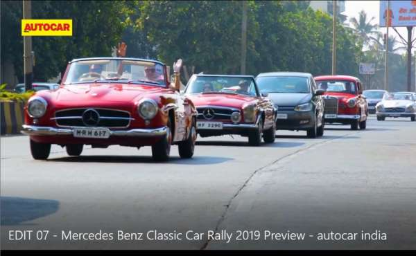 Celebrating 25 Years of Mercedes-Benz in India with the Annual Mercedes-Benz Classic Car Rally (MBCCR) 2019