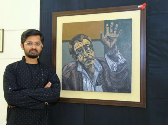 Pune Artist shines at Pan India 'First Take 2019' art Competition and Exhibition