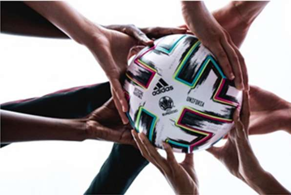 adidas celebrates unity with the unveil of 'Uniforia' - the Official Match Ball for UEFA EURO2020