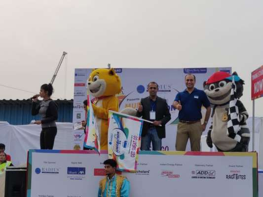 The adorable duo Honey-Bunny flag-off the ultimate race for kids – Juniorthon 2019