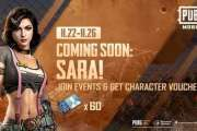 All you need to know about PUBG MOBILE's newest character Sara