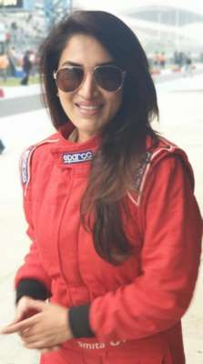 SMITA GONDKAR'S  LOVE FOR SPEED & WHEELS