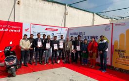 Honda 2Wheelers concludes biggest ever road safety campaign