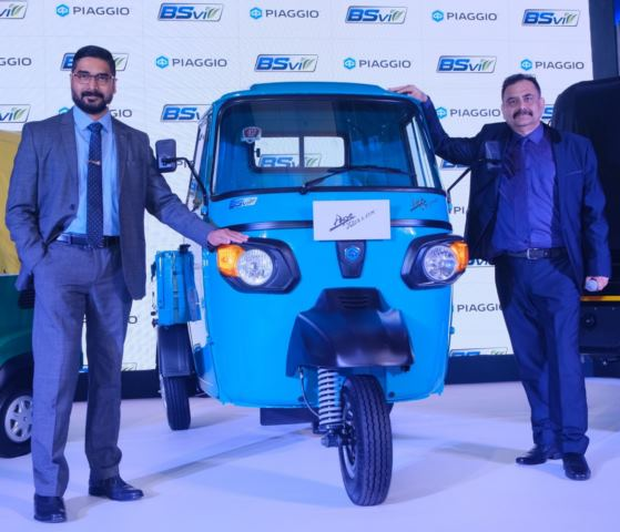 """Piaggio launches its new """"Performance range"""" and becomes the first 3-wheeler manufacturer in India to upgrade its entire range to BSVI"""