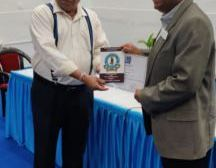 H.P. Srivastava of DCCIA conferred with Achievers Award