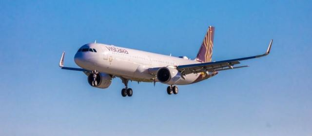 Vistara receives its first A321neo aircraft with flat-bed business class