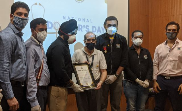 ROUND TABLE INDIA –PSRT177  HONOURS 50 DOCTORS In Association With Jehangir Hospital