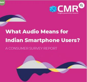 CMR Study reveals consumers are prioritizing audio quality over the camera in their smartphone purchase