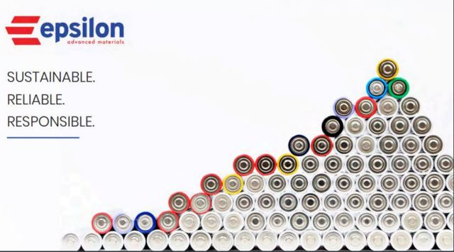Epsilon Advanced Materials forays into battery material business