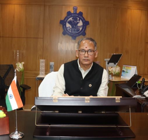 Shri Sumit Deb assumes charge as CMD, NMDC