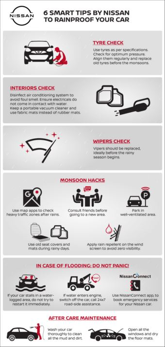 Smart car tips by Nissan