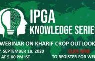 IPGA KNOWLEDGE SERIES presents THE KHARIF CROP OUTLOOK WEBINAR