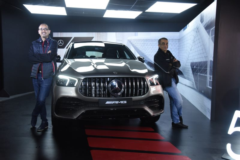 Mercedes-Benz strengthens its AMG portfolio, launches the first-ever 'AMG 53 series' in India- the all-new AMG GLE 53 4MATIC+ Coupe