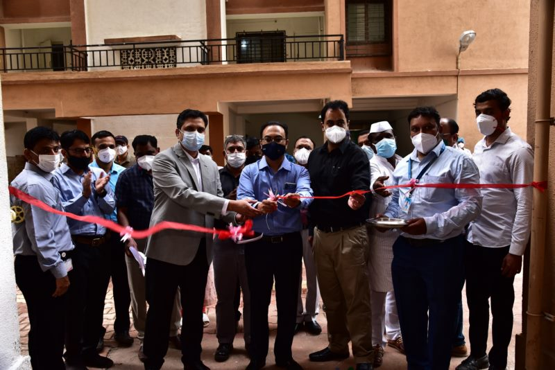 Mahindra Chakan Plant dedicates a 75 Oxygen-Bed Hospital for COVID-19 patients, to commemorate its 75th Founders' Day