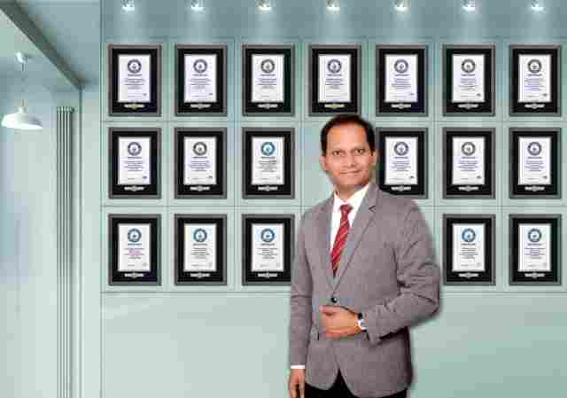 Dubai based NRI Ramkumar Sarangapani becomes the highest Guinness World Record Holder in India and Gulf