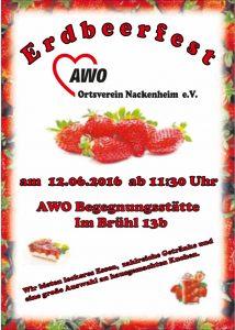 awo 2016 Erdbeerfest