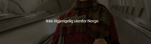 Not available outside Norway