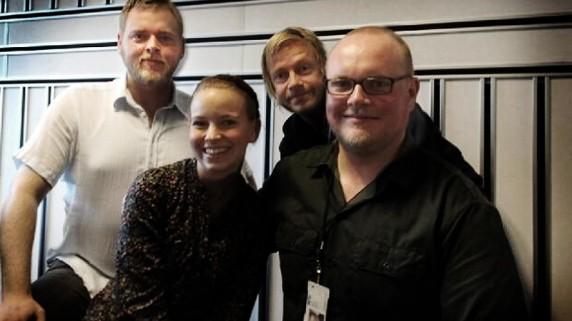 Marit Larsen og Radioresepsjonen (Foto: NRK)