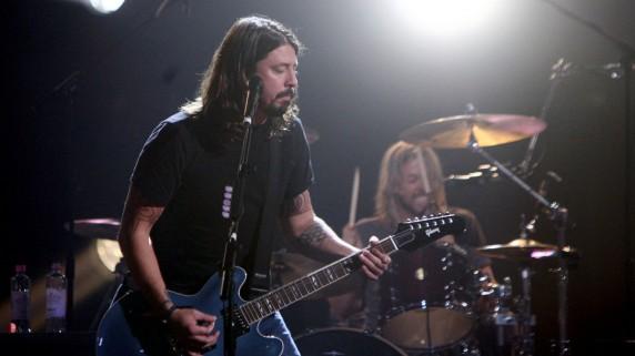 Fra lydprøvene til Foo Fighters (Foto: Dave Hogan/Getty Images)