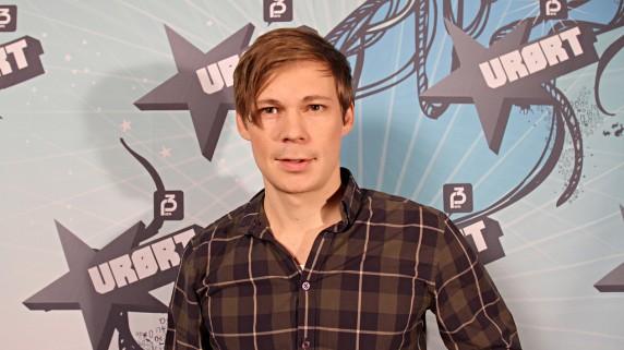 Mats Borch Bugge, musikksjef i P3 og jurymedlem under Urørtfinalen 2010 (Foto: Erlend Lånke, NRK P3)