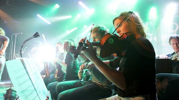 Trondheimsolistene øver til Urørtfinalen 2010 (Foto: Erlend Lånke Solbu, NRK P3)