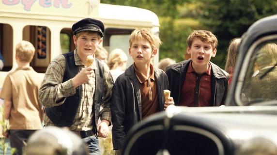 """Biffengjengen i """"Olsenbanden Jr. Mestertyvens skatt"""" (Foto/Copyright: Nordisk Film)."""