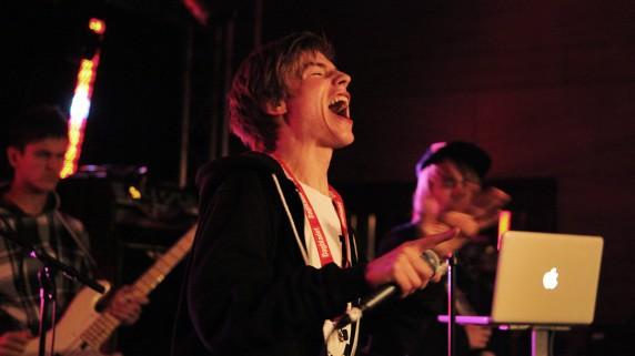 LidoLido på Bylarm 2010 (Foto: Kim Erlandsen, NRK P3)