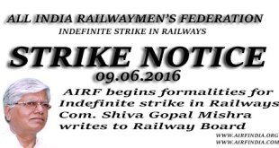Strike Notice AIRF
