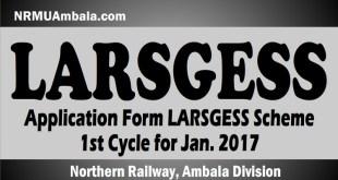LARSGESS Ambala Division Jan 2017