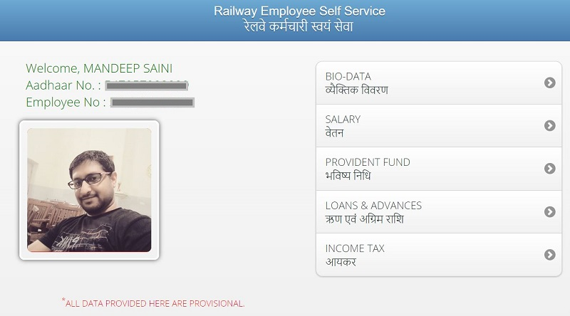 Check Your Salary, Payslip and Income Tax Online - RESS System