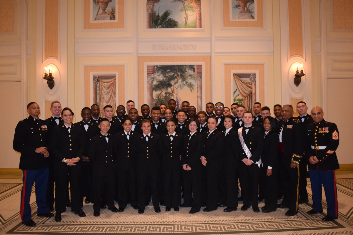Marines Navy Ball