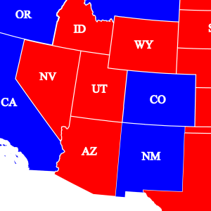 Red White and Blue right to work map2 NM