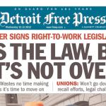 Michigan RTW headline