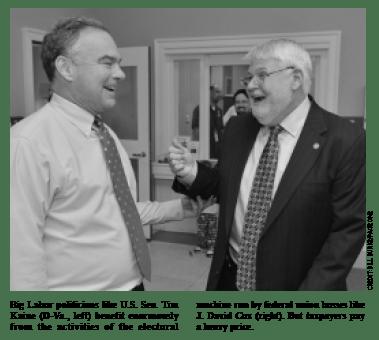 Tim Kane & Government Big Labor Boss J. David Cox