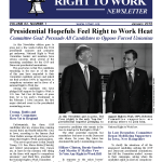 January 2016 National Right To Work Committee Newsletter
