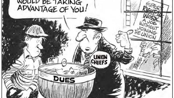 greedy-union-chief-scartoon