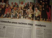 Premio Racimo de Literatura. Prensa