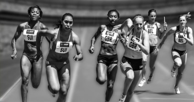 Womens Relay Competition