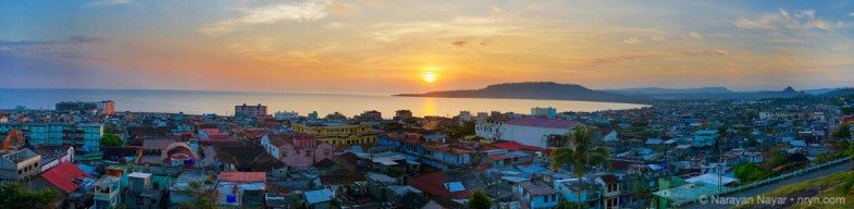 Sunrise, Baracoa