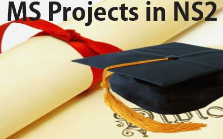 MS Projects in NS2