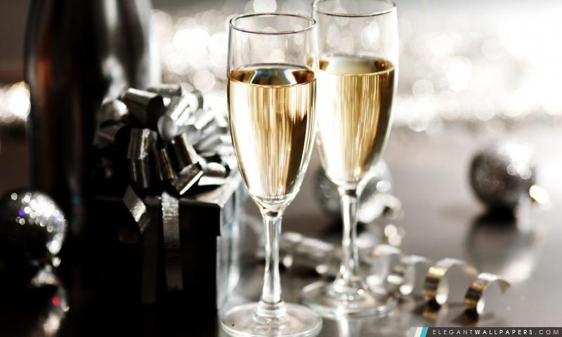 saint sylvestre champagne fond d ecran
