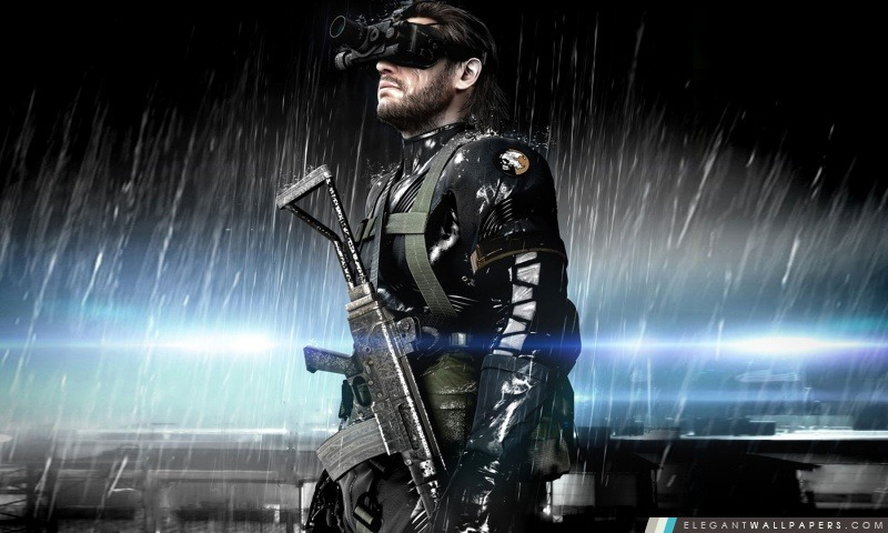 metal gear solid ground zeroes fond d