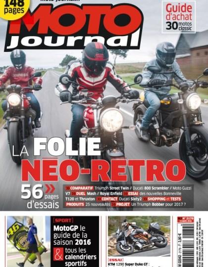 Moto Journal N°2179 - 16 Mars 2016