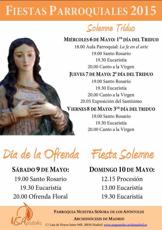 Fiestas Parroquiales 2015