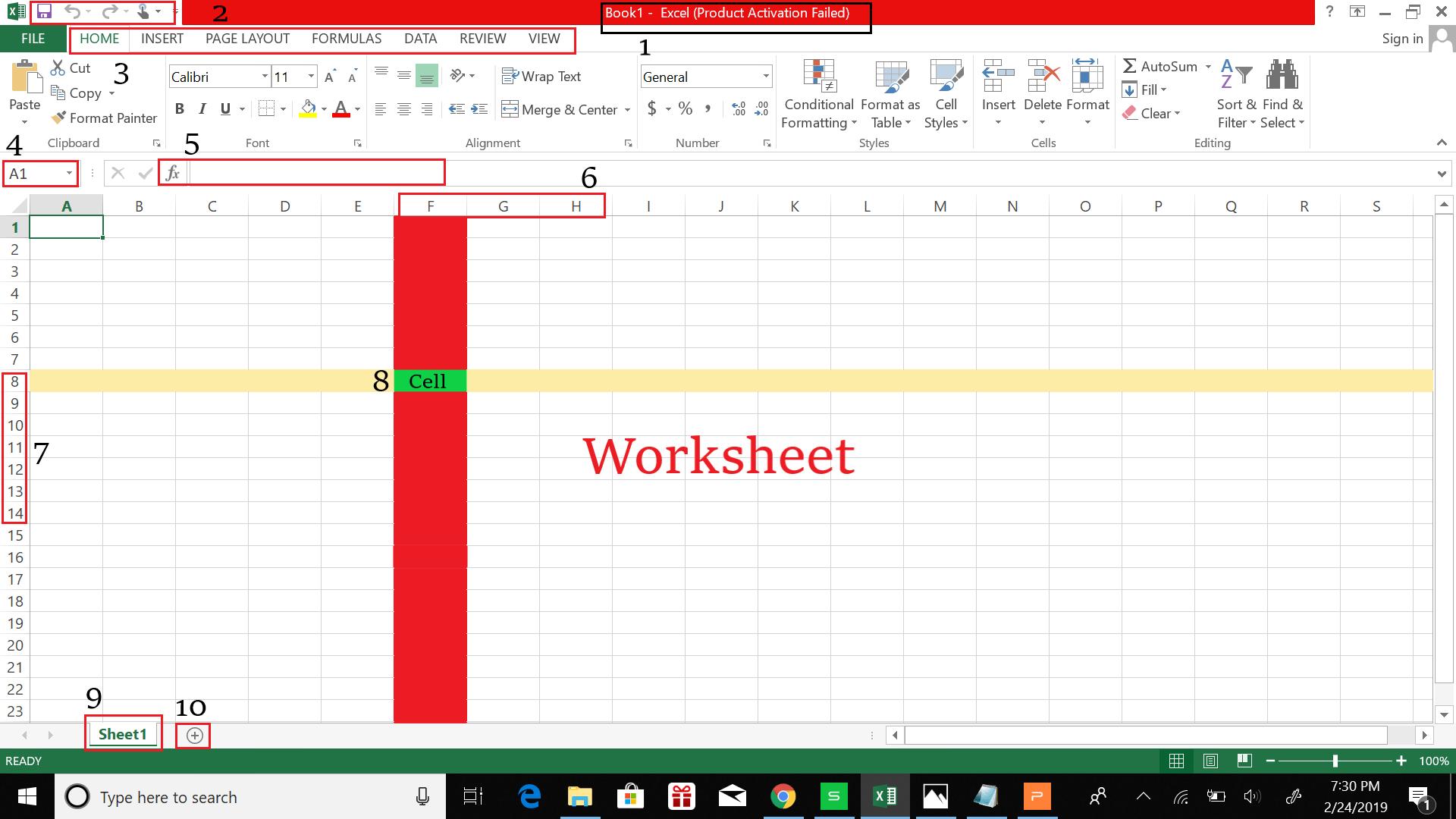 Aplikasi Pengolah Data Microsoft Excel Khairunnisa